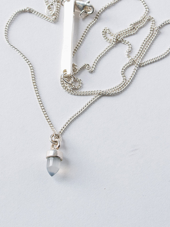 Crystal Necklace S Agat