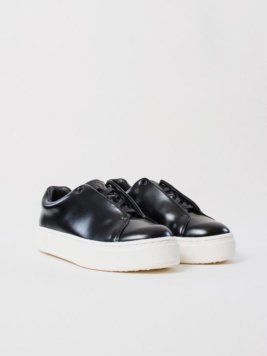 Doja Leather Black