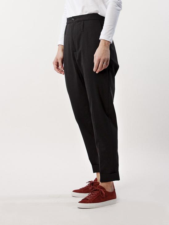 Law Trouser Black