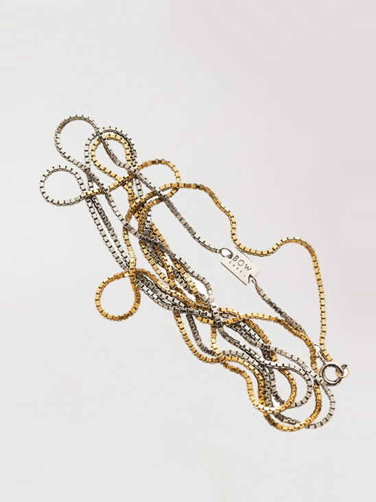 90's Chain - Half Gold Plated