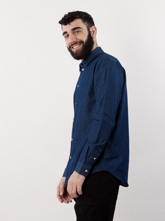 Liam NX 7728 Dk Blue Denim BAS