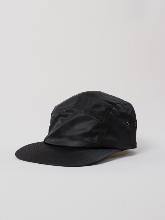 5-Panel Cap Black