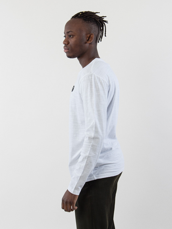 Peter Longsleeve White