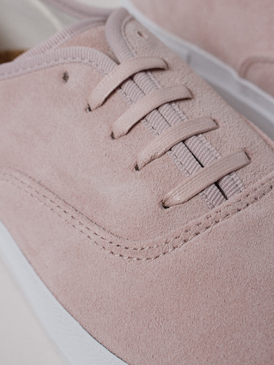 APLACE Mother Suede Powder Pink - Eytys