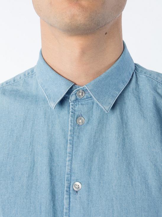 APLACE Liam NX 7728 L Blue Denim BAS - Samsøe & Samsøe