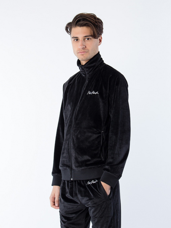 Velour Jacket + Sweatpants