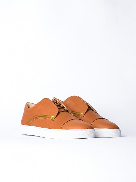 430g Cognac Leather