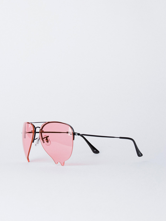 Dripping Sunglasses Pink