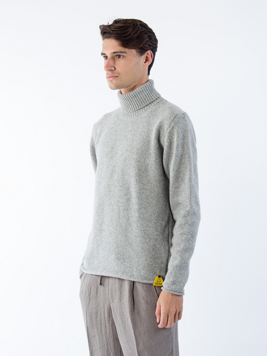 Öland Turtle Neck Grey