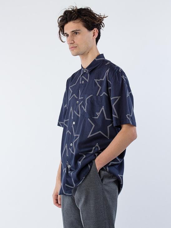 Initial SL Shirt Navy