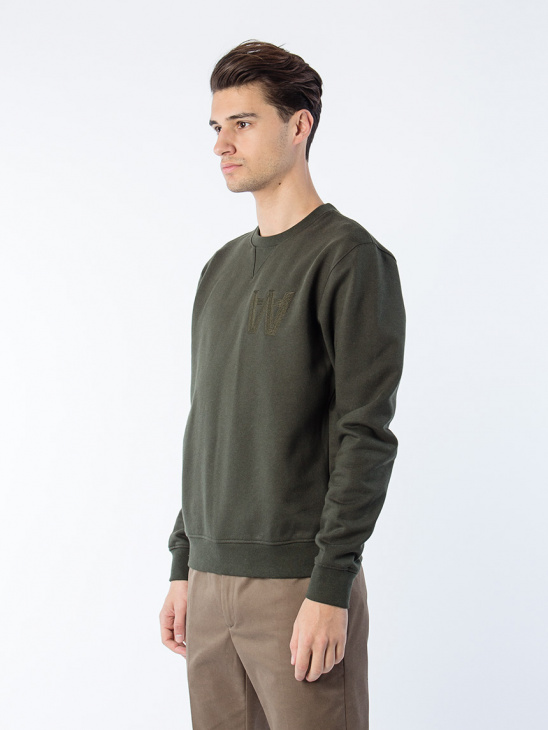 Houston Sweatshirt D Green