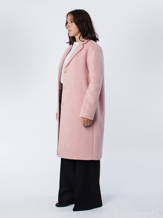 Parker Plush Wool Coat