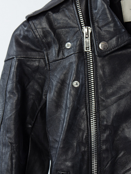 Womens Classic Biker Jacket