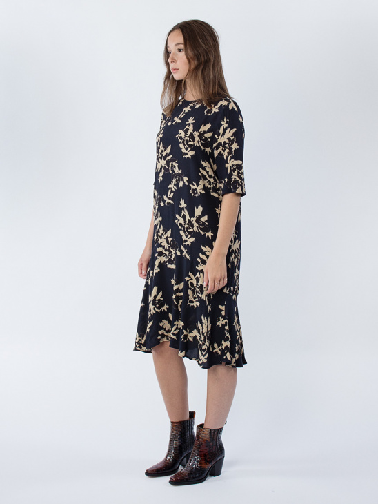 St. Pierre Crepe Dress