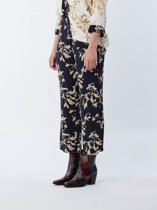 St. Pierre Crepe Trousers