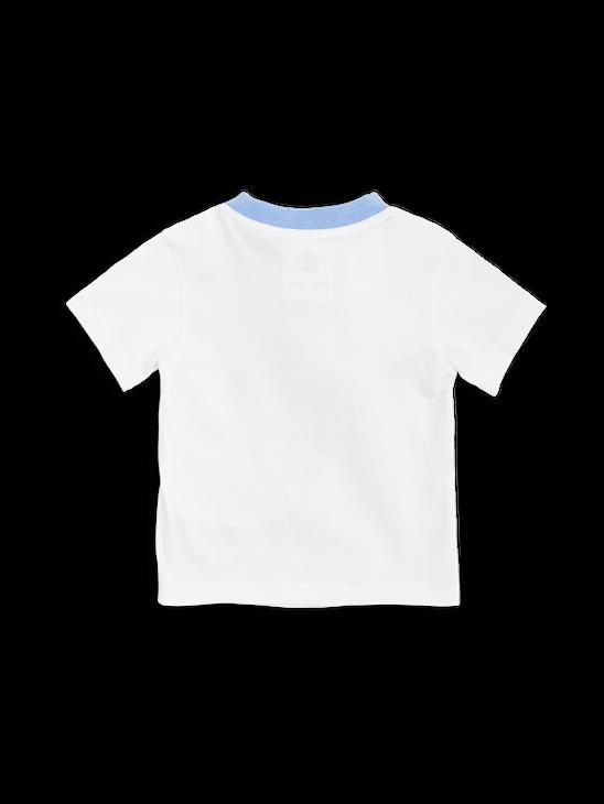 APLACE Mini Rodini Tee Off White - adidas by Mini Rodini