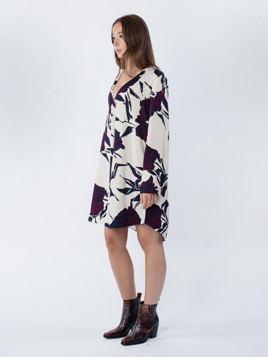 Cassandra Ls Dress Aop 7951