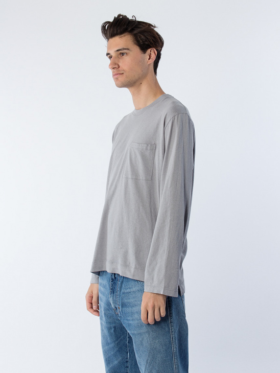 Box Longsleeve Sky Grey Army