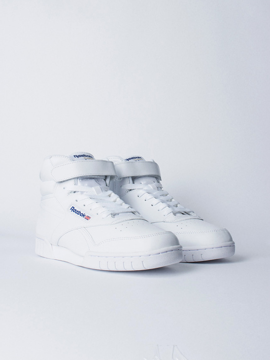 W Ex-O-Fit Hi White