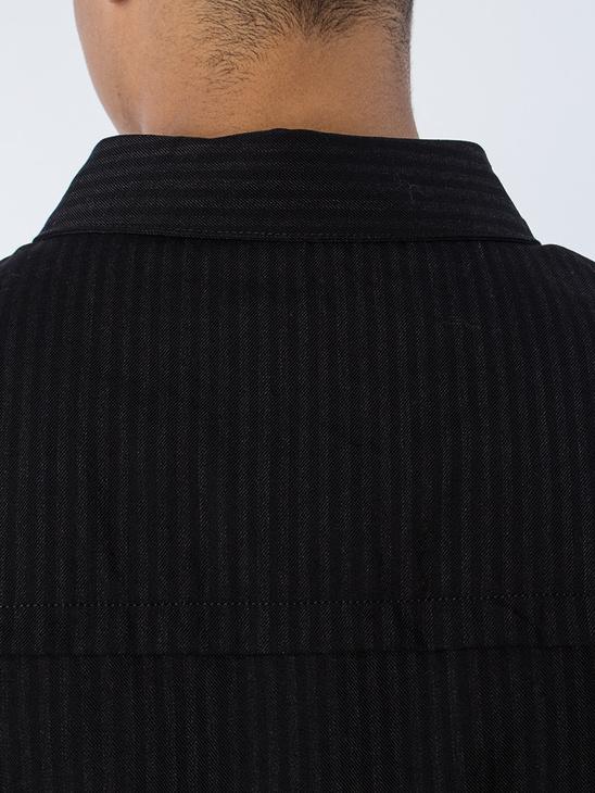 APLACE Sim Shirt Black Stripe - ADNYM