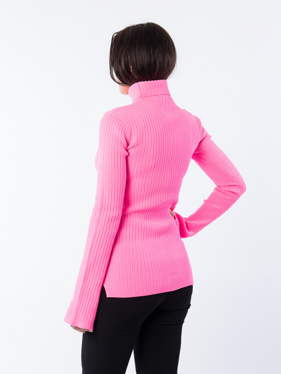 APLACE Reed Turtleneck Pink - Hope