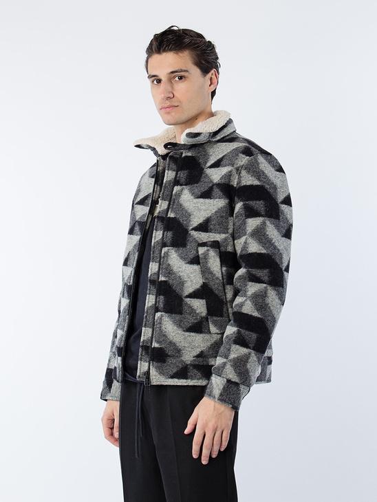 Pilot Jacket Black/Grey