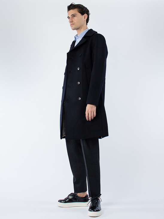P- Coat Dark Navy