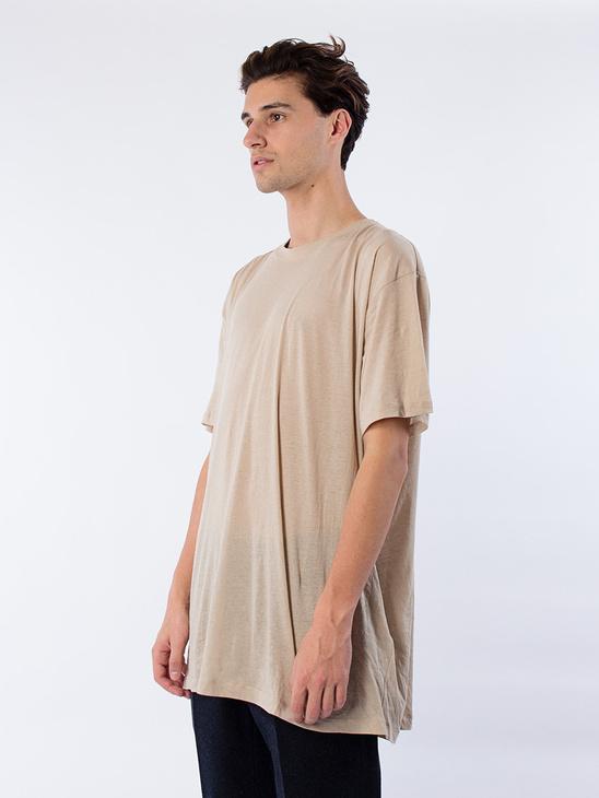 Oversize T-Shirt Nude Smoke