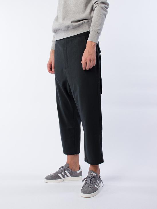 Drop Crop Pants Olive