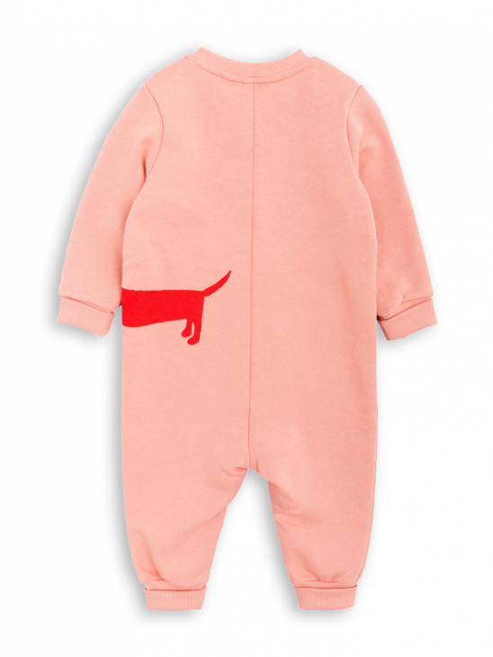 Dog Sp Onesie Pink