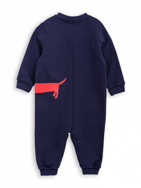 Dog Sp Onesie Navy