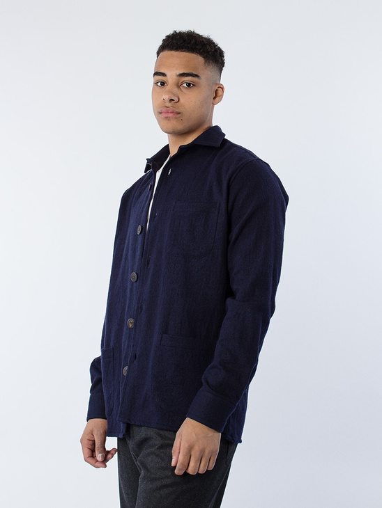 Overshirt One Dark Blue