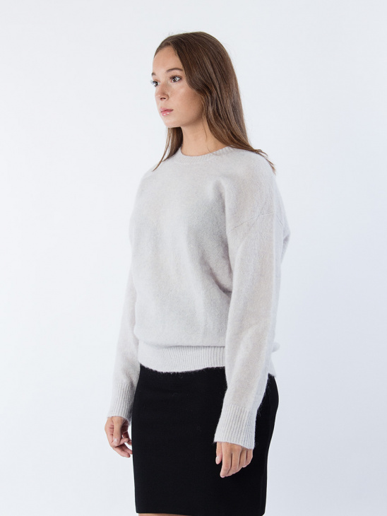 Kaily Solid Knitted Sweater
