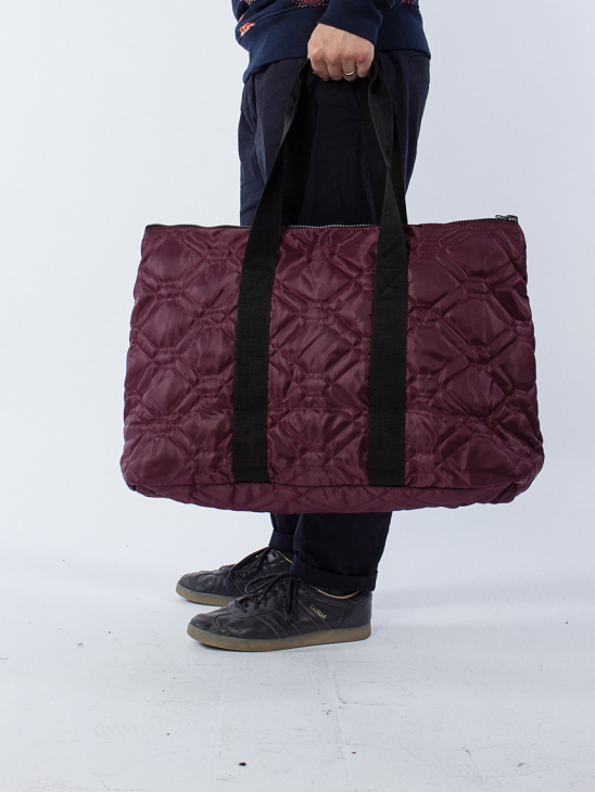 Uriel Quilted Carry Bag Red