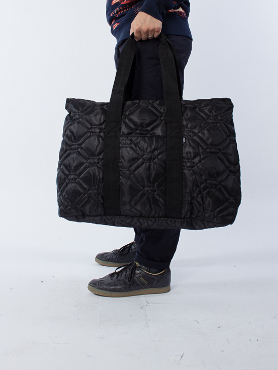 Uriel Quilted Carry Bag Black