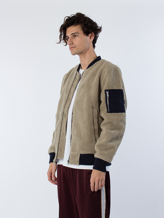 The Teddy Bomber Padded Jacket