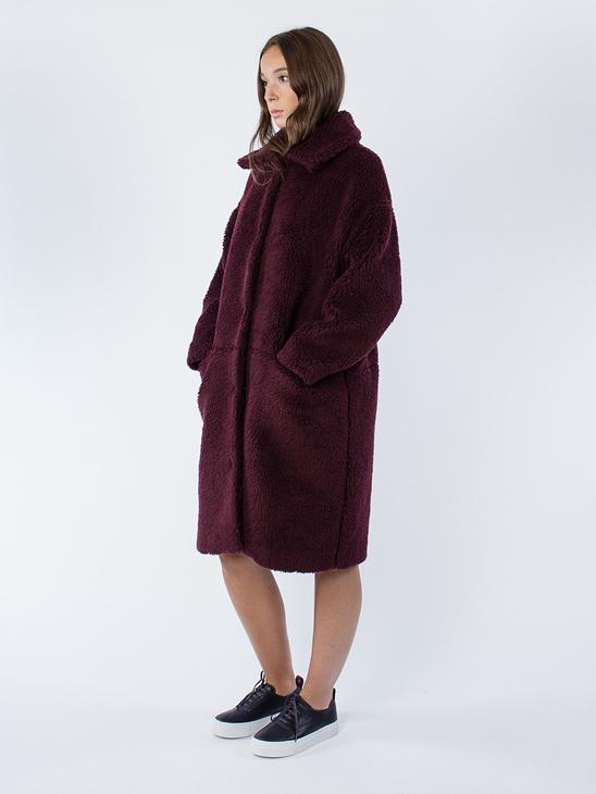 Teddy Coat Mahogany