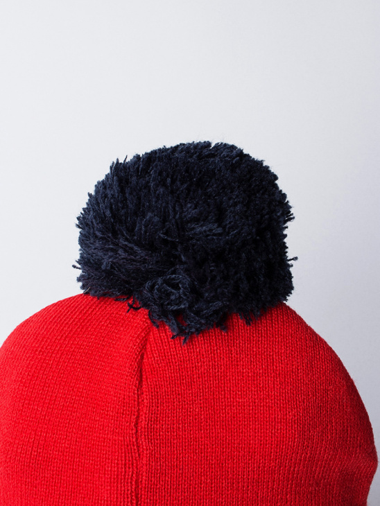 Puncho Pom Graphic Beanie