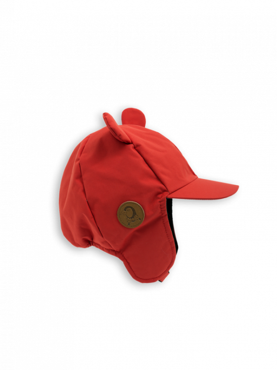 Alaska Ear Cap Red