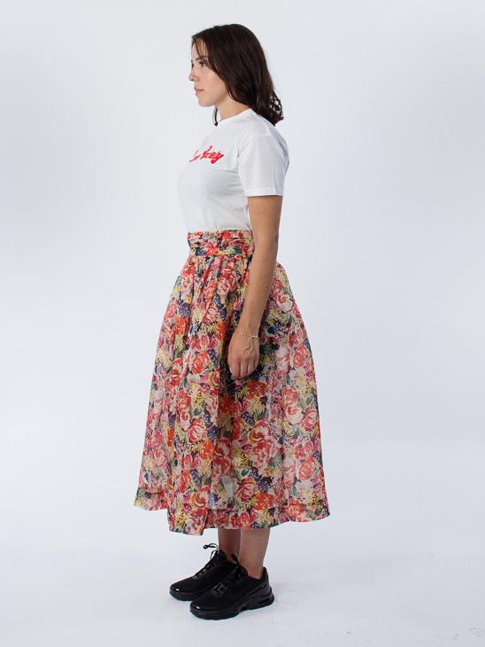 Seneca Silk Multi Skirt