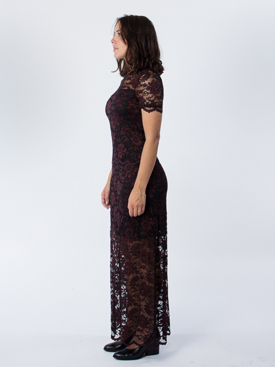Flynn Lace Black Dress