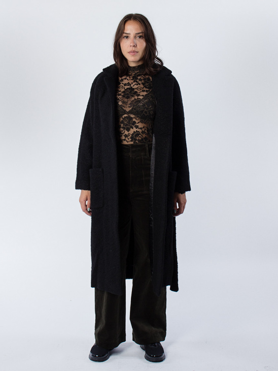 Fenn Black Coat