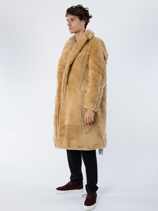 Coat X Steiff Teddy Fabric