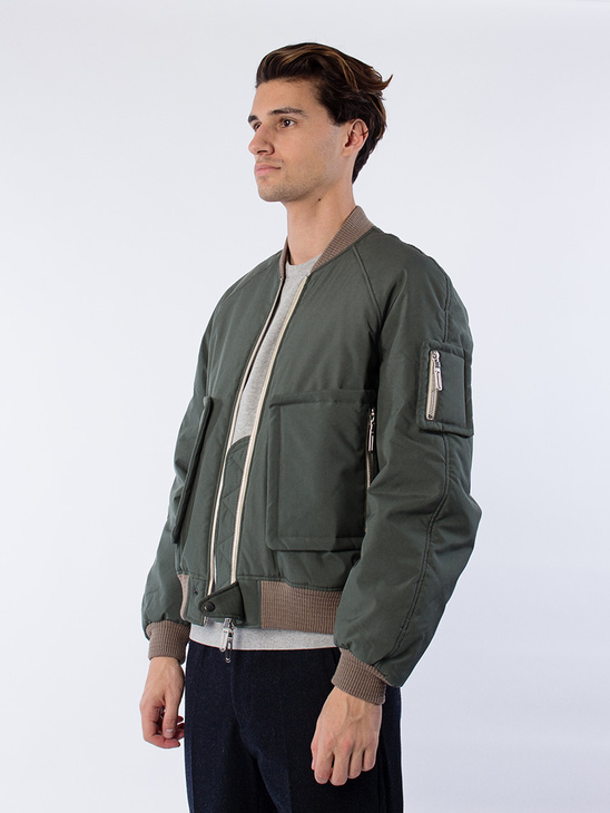 Bomber Jacket Green Olive