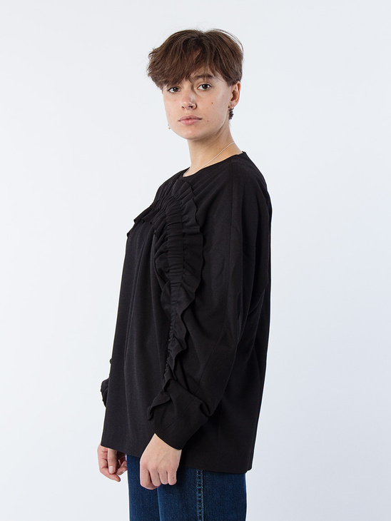 Date Blouse Black