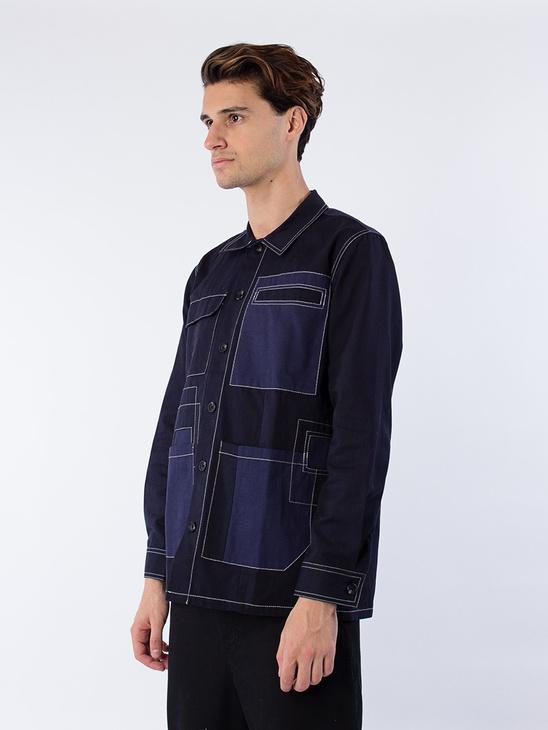 Screw Jacket Blue