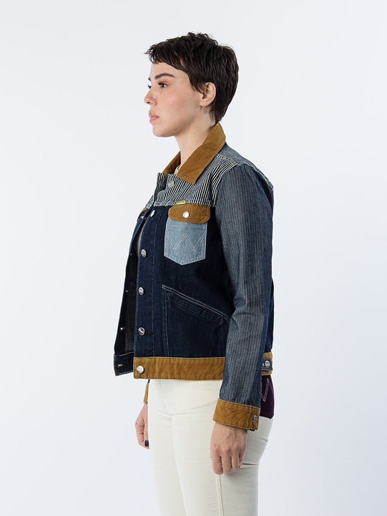 Western Jacket Denim Rinse