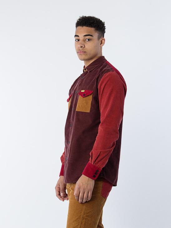 Overshirt Brown Denim