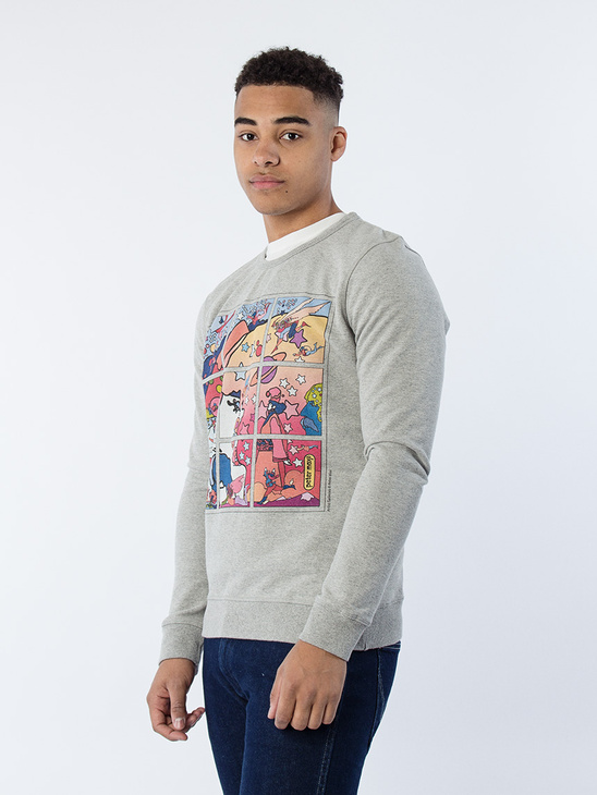 Artist Sweatshirt Mid Grey