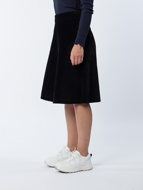 Wide Wale Stelly Clean Skirt